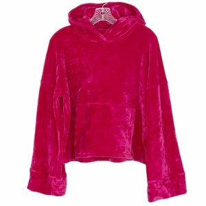 Free People Movement Cherry Hoodie in Pink